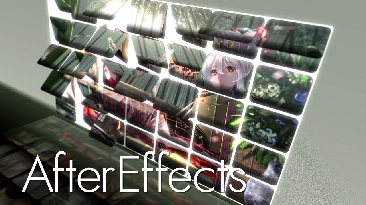 【AfterEffects】エクスプレッションを使った簡単カードワイプ【aep配布】